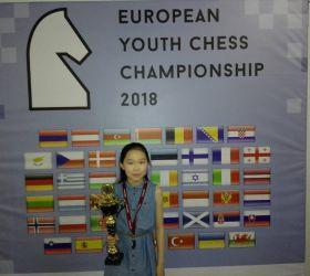 Яна Жапова — бронзовый призёр Европы