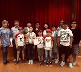 Чествование юных шахматистов школы