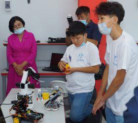 Открытие центра цифрового образования детей «IT-куб.Агинское»