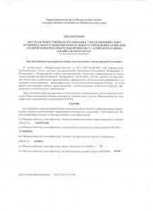 Орг. расп. док-ция о регистрации